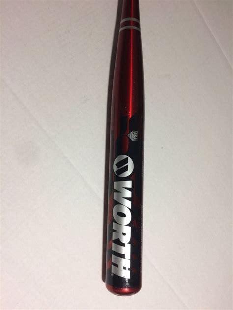 worth powercell softball bat wsb   diameter ebay softball bat bat softball