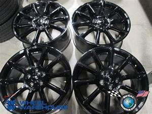 "2005-2015 2016 Factory Black Ford Mustang 19"" Wheels OEM Rims FR3C1007FC 10080 