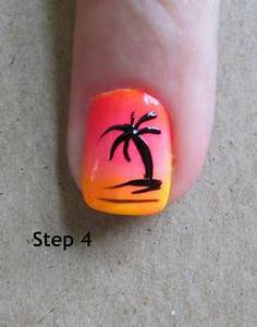 Southern Sister Polish,palm tree tutorial | Beach nails ...