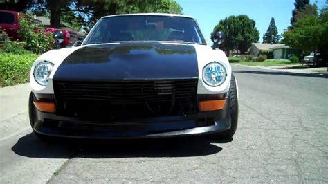 Datsun 240z V8 Conversion Kit by 73 Datsun 240z V8 Chevy 350 Conversion Walk Around