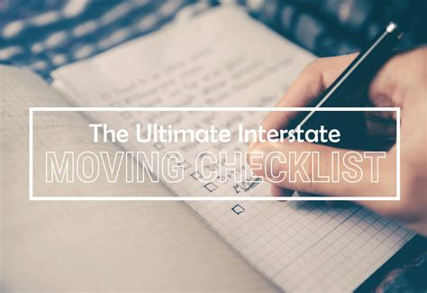Depending on how long you worked in. Moving Interstate Checklist | To-Dos for Relocating to ...