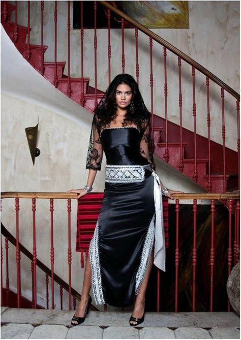 modeles robes kabyles modernes un autre mod 232 le de robes kabyles en couleur noir et argentin robes kabyles modernes