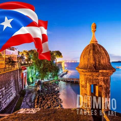 T136 El Morro & PR Flag