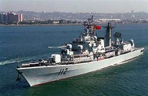 Chinese Warship Prepared To Fire At Japanese Destroyer ...