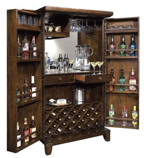 Make Liquor Cabinet Ideas by Cool Diy Liquor Cabinet With Shelving Mounted On Doors