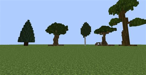 custom trees pack minecraft project