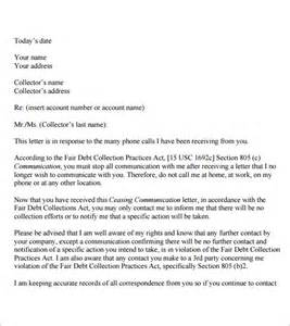 Sample Cease and Desist Letter Template