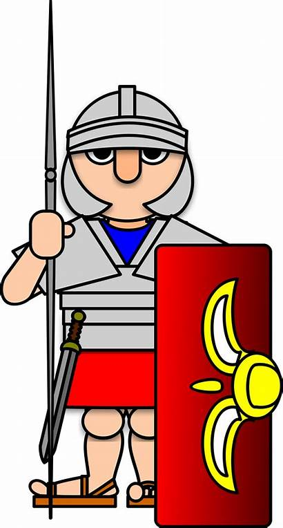 Roman Soldier Clipart Rome Army Clip Warriors