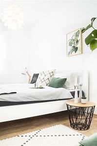 Schlafzimmer In Grün Gestalten : die besten 25 skandinavisches schlafzimmer ideen auf ~ Michelbontemps.com Haus und Dekorationen