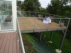 terrasse bois douglas maine et loire cette terrasse en With faire terrasse sur pilotis