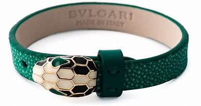 Bracelet Snake Leather Bvlgari Bulgari Jewelry