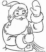 Coloring Santa 22ec Highfive Printable sketch template