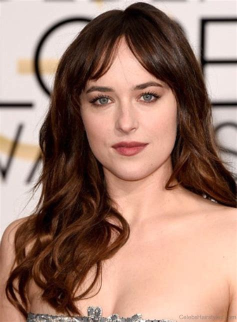 classic hairstyles  dakota johnson