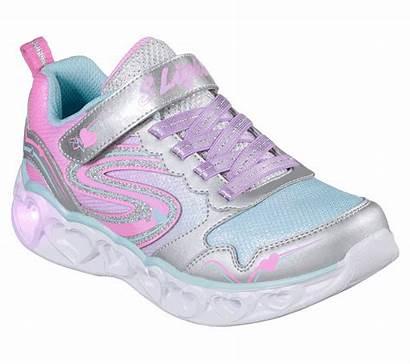 Heart Lights Spark Skechers Shoes Multi