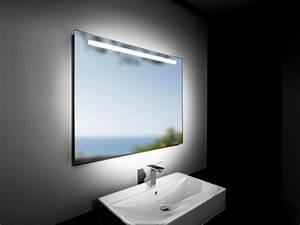 Miroir Avec Lumiere Pour Coiffeuse : le miroir salle de bains en 17 exemples modernes ~ Teatrodelosmanantiales.com Idées de Décoration