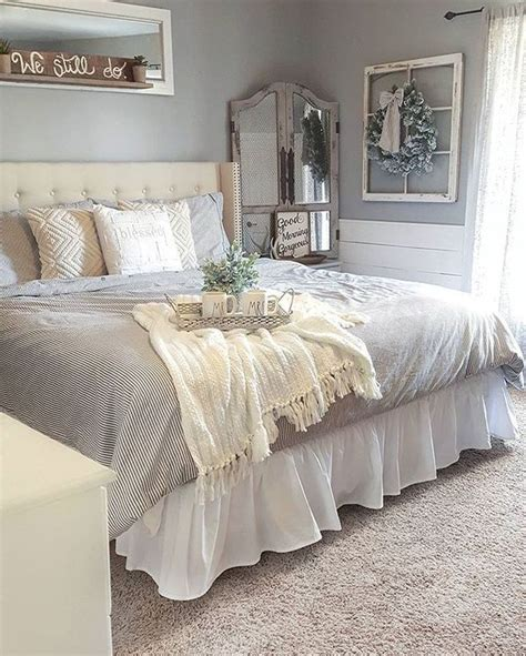cool  gorgeous farmhouse master bedroom decorating ideas
