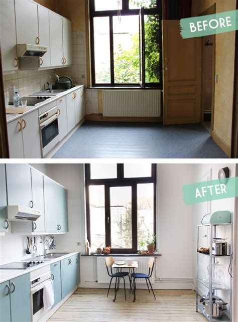 relooker sa cuisine kitchen makeover before after une cuisine avant