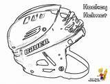 Hockey Coloring Mask Helmet sketch template
