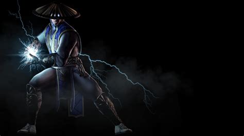 wallpaper raiden mortal kombat  pc games xbox  ps