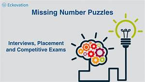 Missing Number Puzzles  Interviews  Placements And