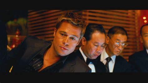 Brad Pitt Tattoos Oceans 11
