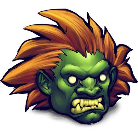Street Fighter Blanka Icon  Ultrabuuf Iconset Mattahan