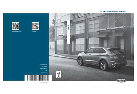 ford edge owners manual  give   damn manual