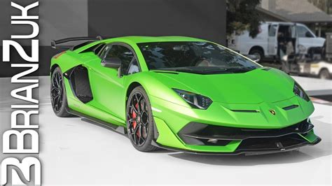 lamborghini aventador svj world debut youtube