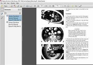 Harley Davidson Fxdb Sturgis 1991-1998 Service Repair Manual