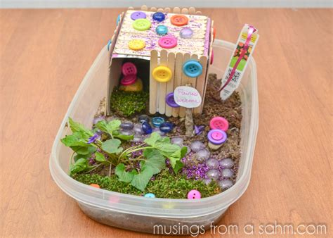 kid crafts at home how to make a house craft living well