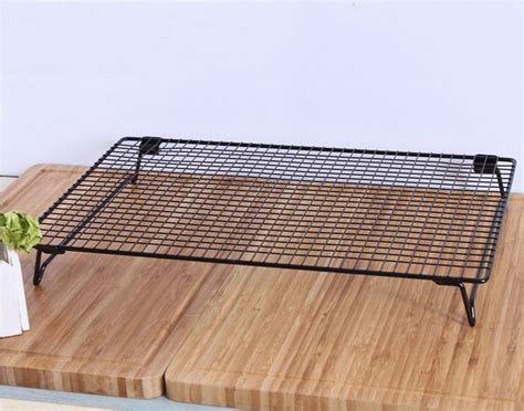 baking sheet with wire rack stainless steel cooling baking wire rack roasting cool