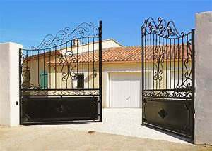 Portail De Maison : comment bien choisir son portail ~ Premium-room.com Idées de Décoration