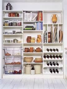 Kitchen Closet Pantry Storage Ideas