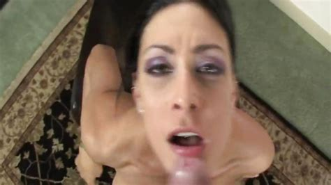 Lovely Hot Jessica Jaymes Gets Sprayed With Cum All Over