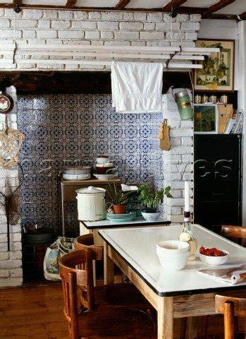 edwardian kitchen tiles kitchen fireplaces white tiles and blue and white on 3529