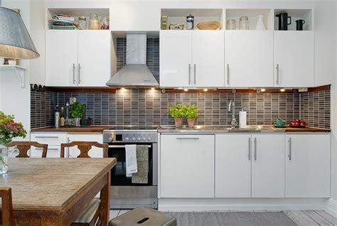 black and white kitchen designs photos dise 241 o de cocinas modernas 100 ejemplos geniales 9275