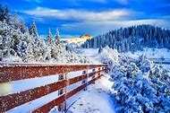 Beautiful Winter Landscape Photography