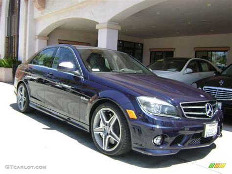 2009 Capri Blue Metallic Mercedes-benz C 63 Amg #8846152