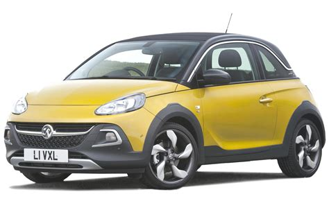vauxhall adam price vauxhall adam rocks hatchback review carbuyer