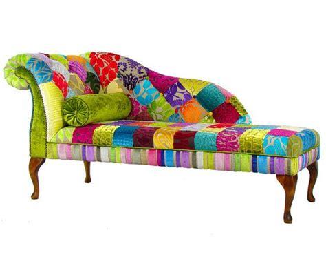 Bespoke Patchwork Lhf Chaise Longue Designers Guild Fabric