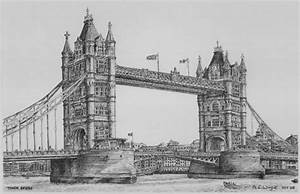 London Bridge Dessin : angela wright tower bridge artists illustrators original art for sale direct from the artist ~ Dode.kayakingforconservation.com Idées de Décoration