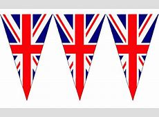 Union Jack string bunting Triangle flags Custom Flags