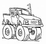 Truck Digger Template Moving Craft Parts Coloring Pages Dump sketch template