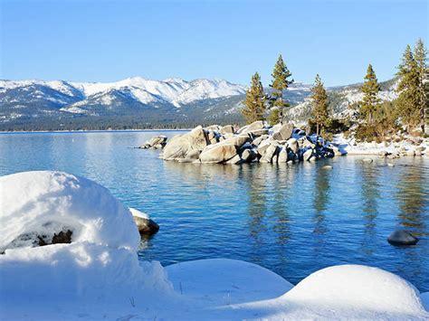 tahoe winter lake vacations america nevada california weather take ski most usa beach state resorts cold trader island trip road