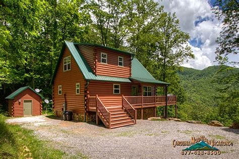 secluded cabin rentals secluded nc mountain cabin rental by carolina mountain