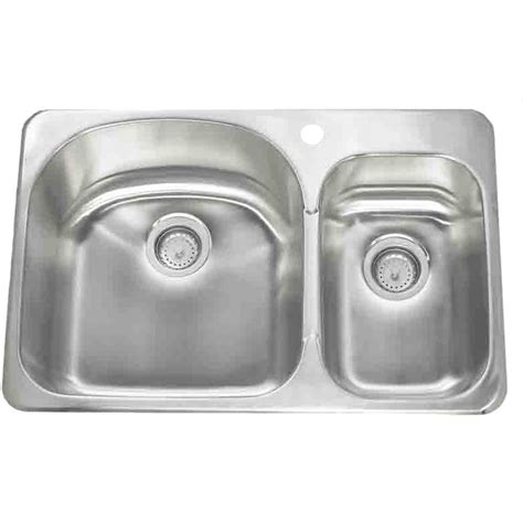lenova kitchen sinks lenova ca tm dl stainless 32 quot x21 quot drop in kitchen sink 3719