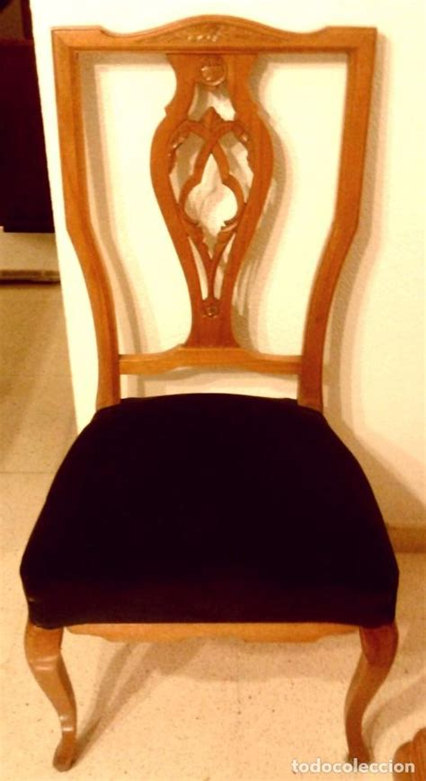 lote  sillas de comedor estilo chippendale vendido