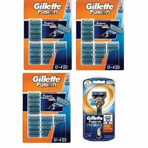 49 Flex Ball Gillette Fusion Proglide Manual Razor Blades