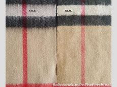 Burberry Scarf Fake vs Real & How to Tell the Difference