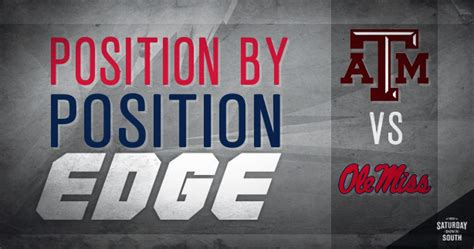 Position-by-position edge: Ole Miss vs. Texas A&M